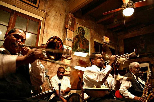Jazz at the Preservation Hall, New Orleans